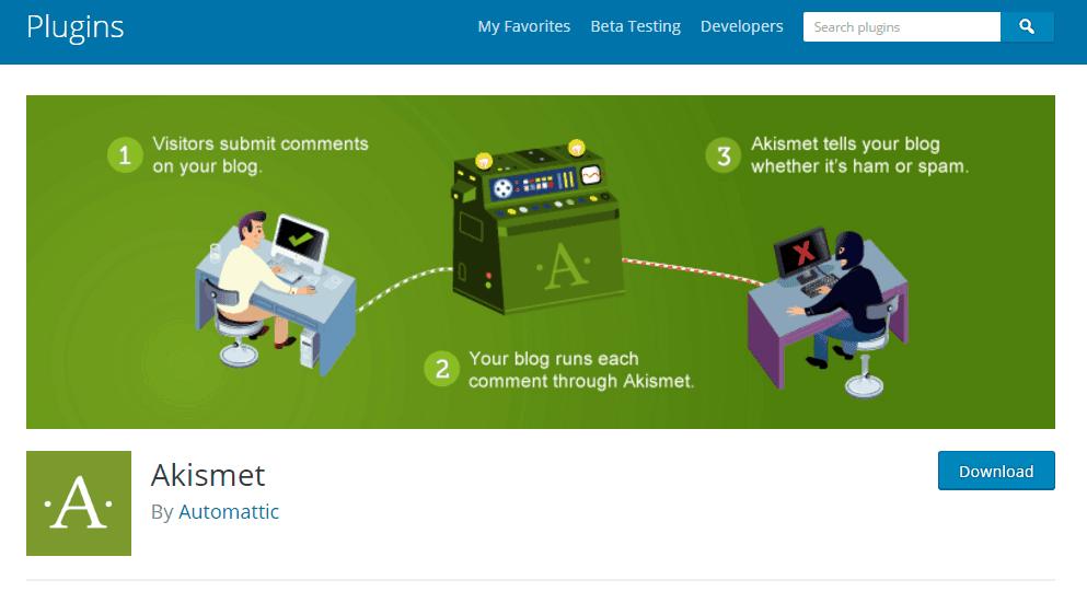 Akismet - WordPress Plugins