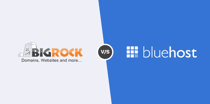 General Overview of Bigrock vs Bluehost
