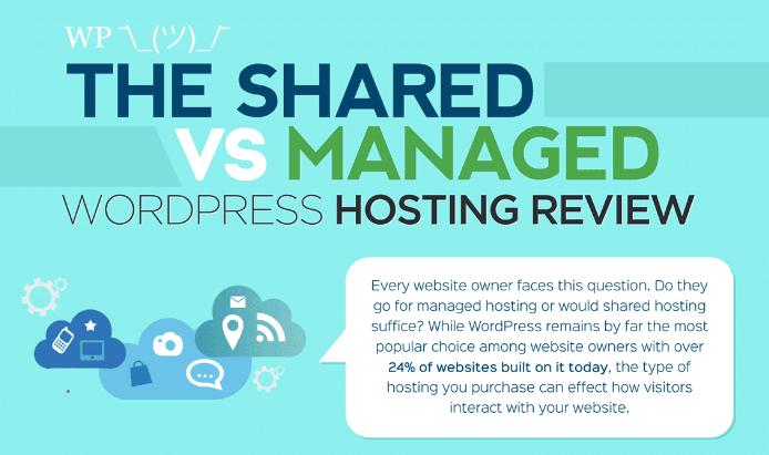Shared vs Managed WordPress Hosting banner