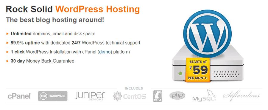 BigRock WordPress Hosting