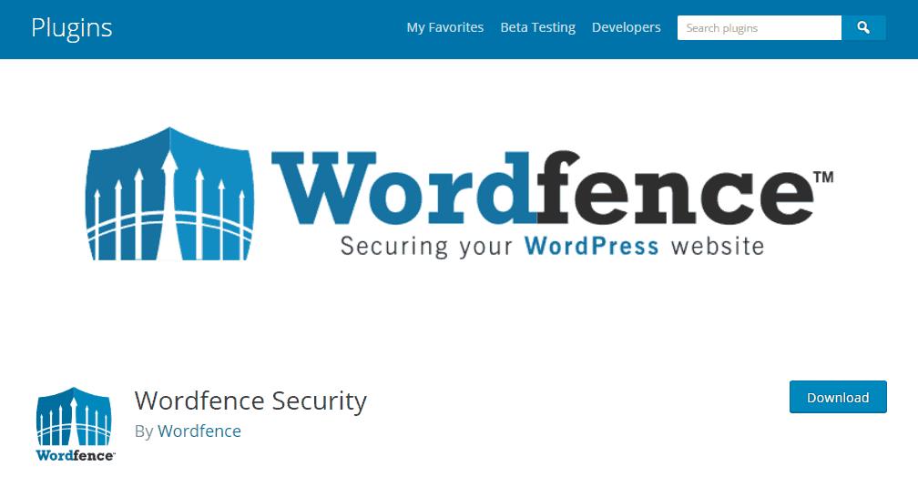Wordfence Security - WordPress Plugins