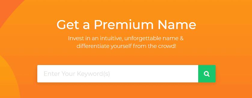 BigRock Premium Domain Names