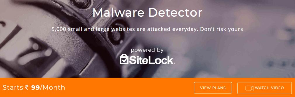 BigRock SiteLock Malware Detector