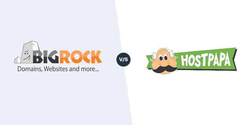 BigRock vs HostPapa