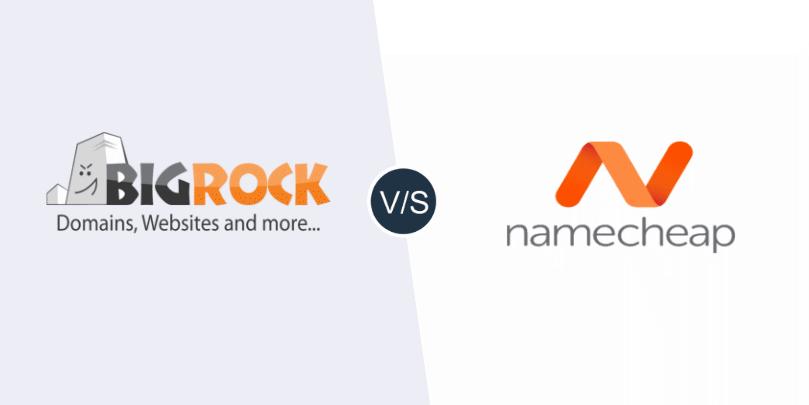 BigRock vs Namecheap